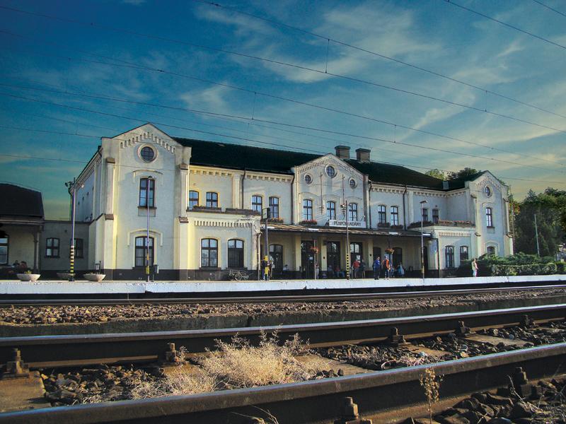Püspökladány Railway Station